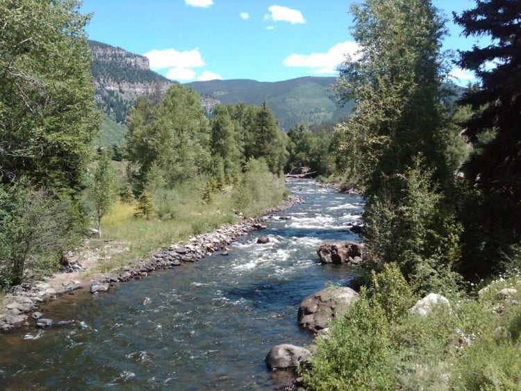 Diy guide to fly fishing eagle river in colorado diy fly for Eagle river fishing report