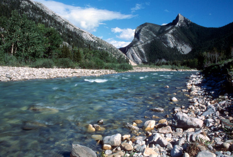 Teton River in Montana