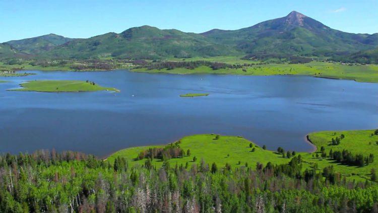 Steamboat Lake Colorado