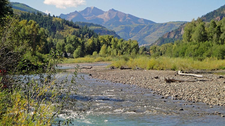 Crystal River near Redstone Colorado