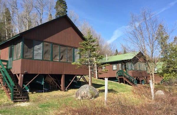 grants cabins on kennebago lake