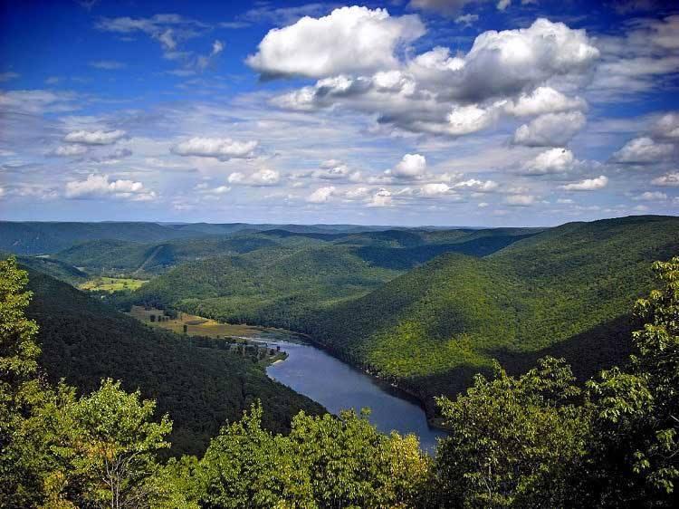 Kettle Creek in Potter County Pennsylvania