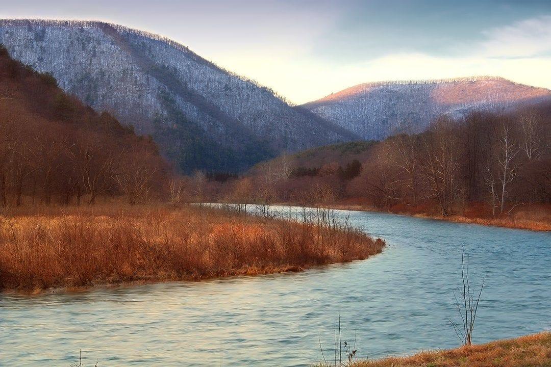 Pine Creek in Pennsylvania