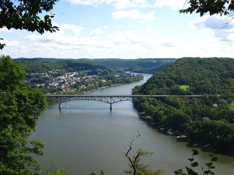 Allegheny River in Pennsylvania