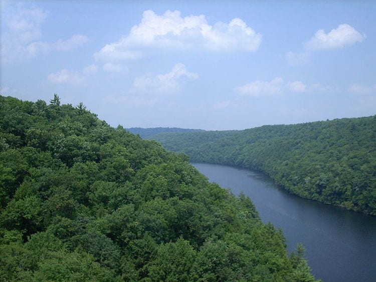 Clarion River in Pennsylvania