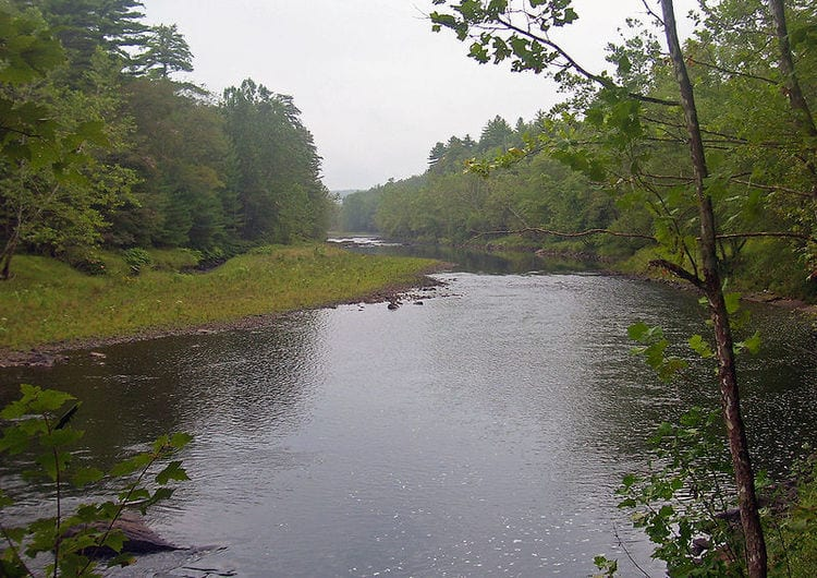 Lackawaxen River in Pennsylvania