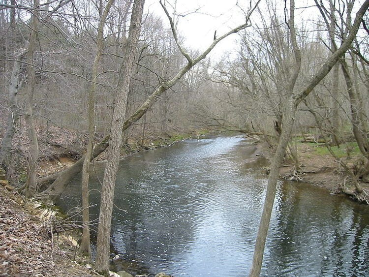 Wissahickon Creek in Pennsylvania