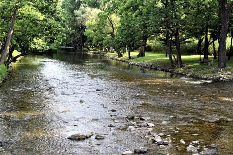 bushkill creek in Northampton PA