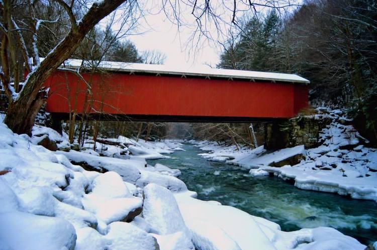 Slippery Rock Creek in Pennsylvania