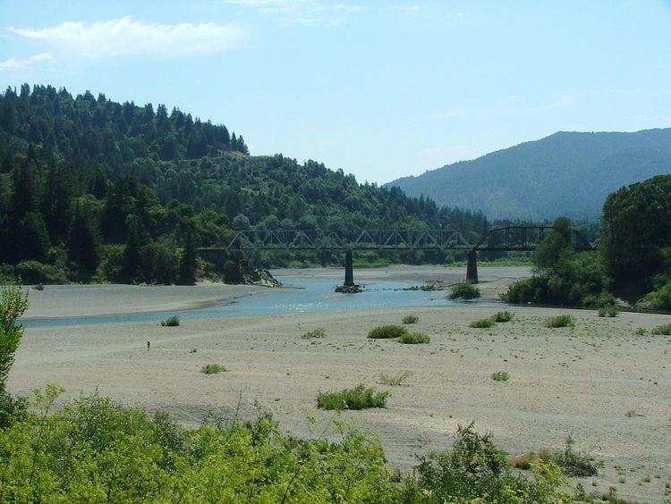 Eel River in California