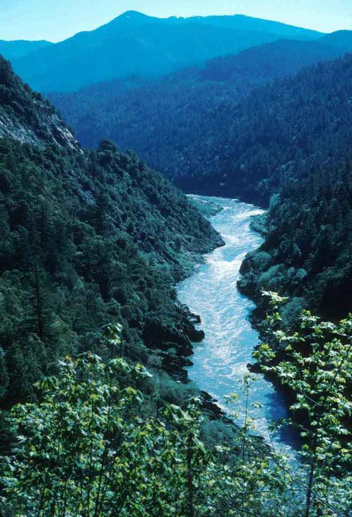 Klamath River in California