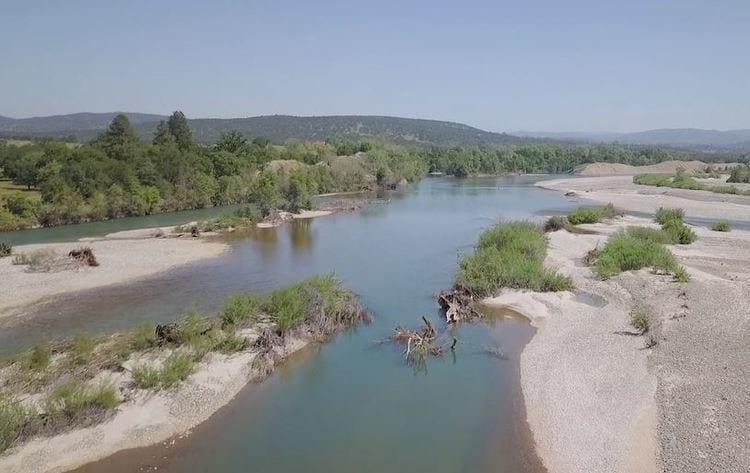Lower Yuba River in northern California
