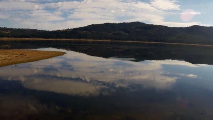 Lake Davis in northern California