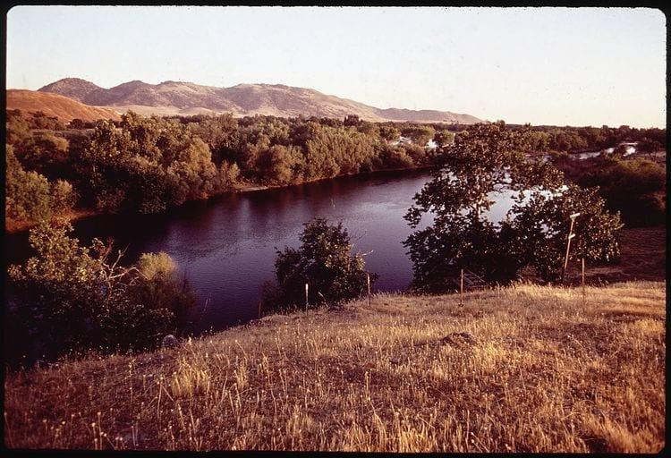 Lower Kings River in California
