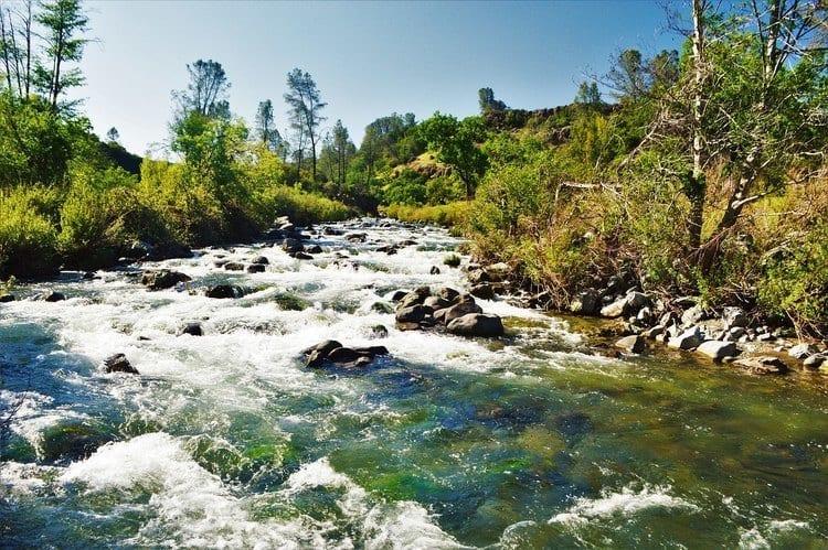 Putah Creek in California