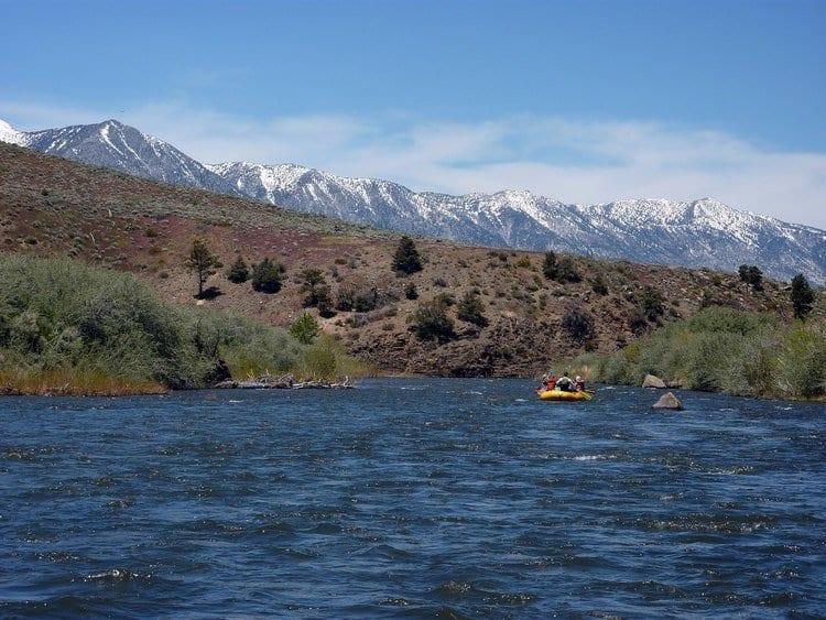 East Carson River in California