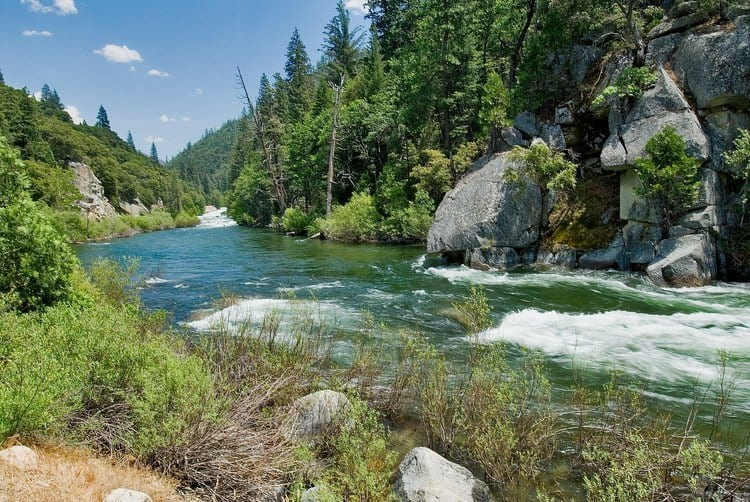 Kings River (South Fork) in California
