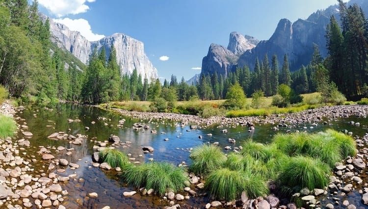 Merced River in California
