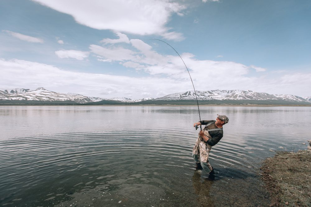 can you fly fish in a lake tips